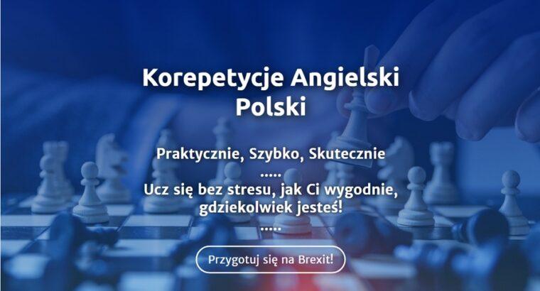 Korepetycje angielski, polski, tłumaczenia