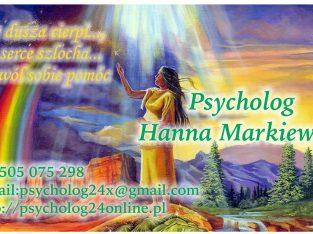 Psycholog – terapeuta, Pomoc Psychologiczna online