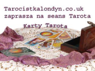 Wróżka w Anglii. Wrozby z kart tarot.