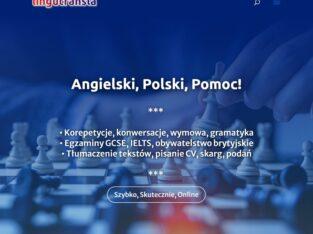 Angielski-Polski Pomoc, Korepetycje, Tłumaczenia